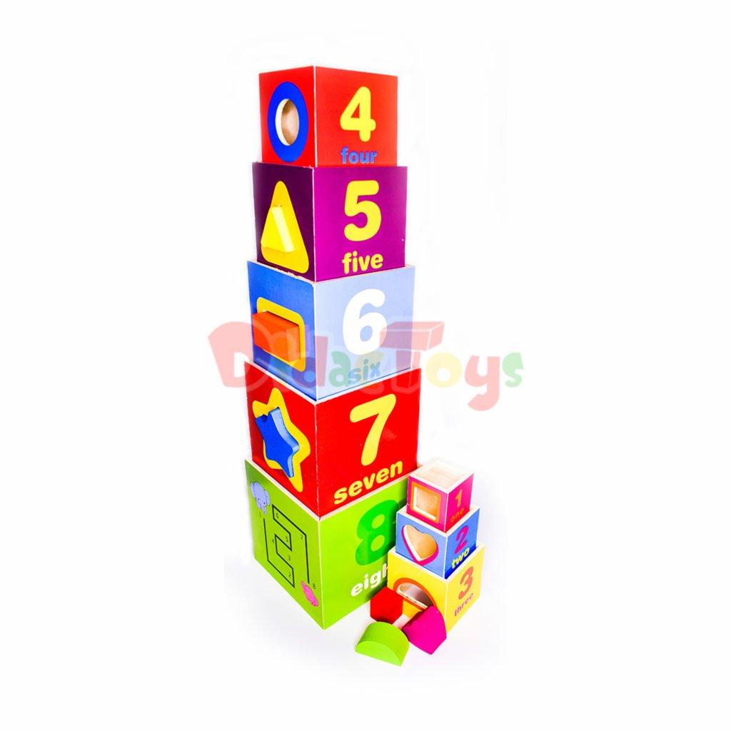 Cubo secuencia x 8