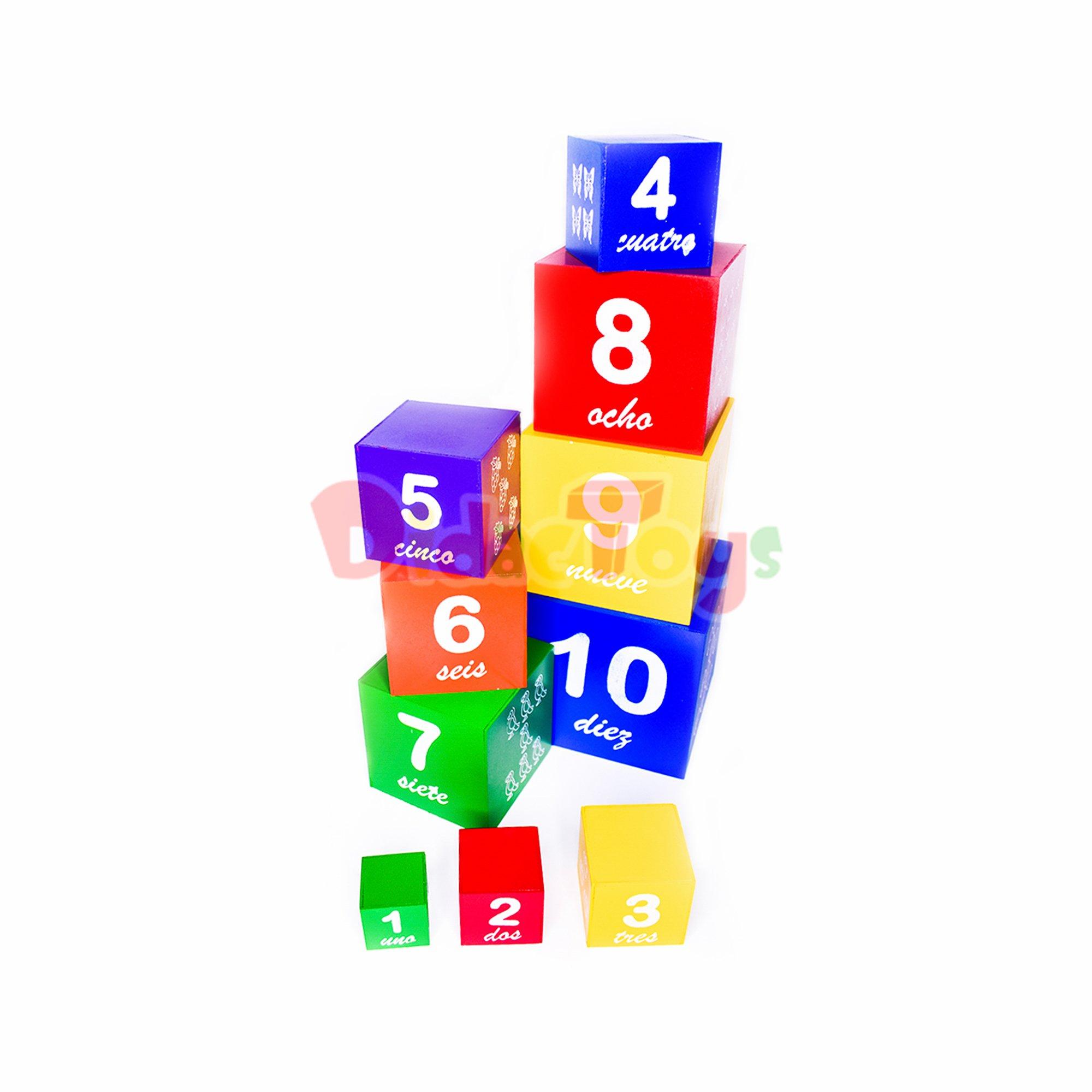 Cubo secuencia x 10
