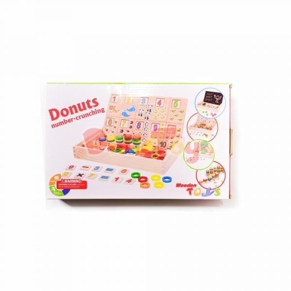 Pizarra donuts