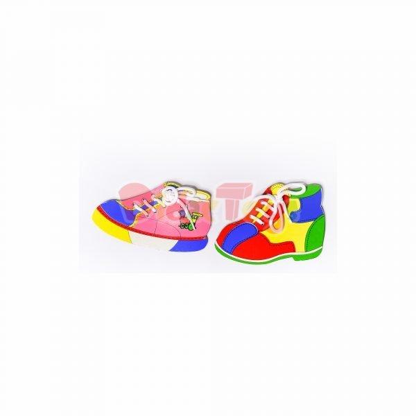 Pasado zapato plano