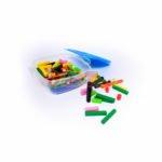 Regleta x 136 pcs plástico