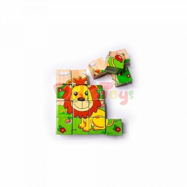 Rompecabezas cubo x 16 pcs