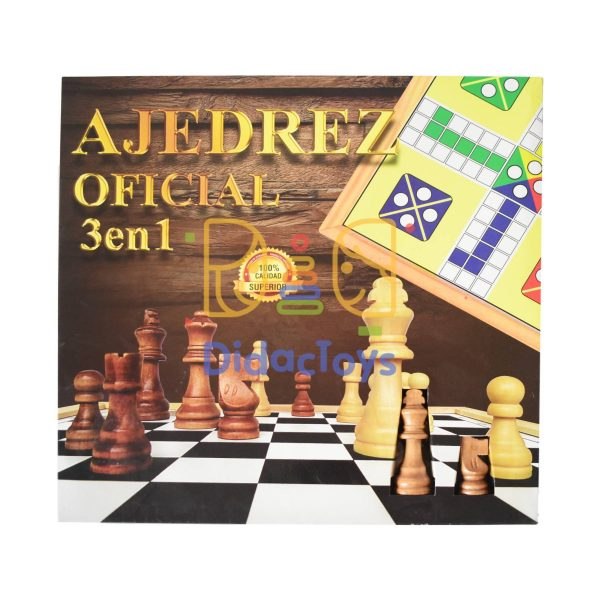 ajedrez oficial didactoys