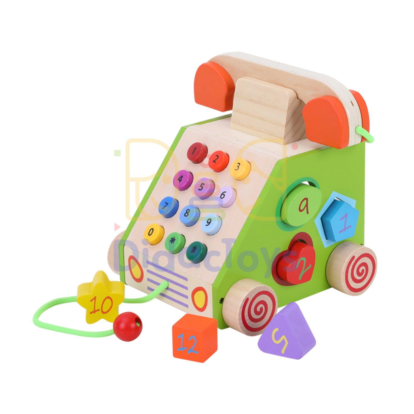 Juego de herramientas didácticas para niños