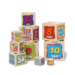 cubo x 10 apilable