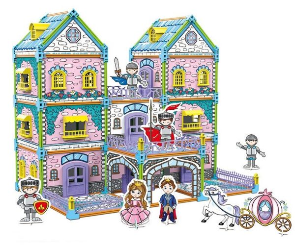 casita de princesas didactico