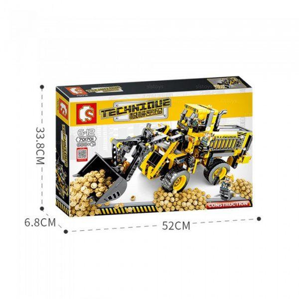 LEGO DIDACTICO TRACTOR
