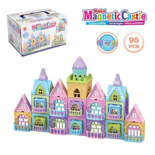castillo imantado didactico