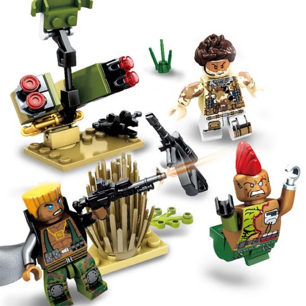 guerra en lego