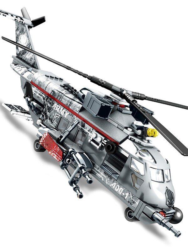 avion militar en lego didactico