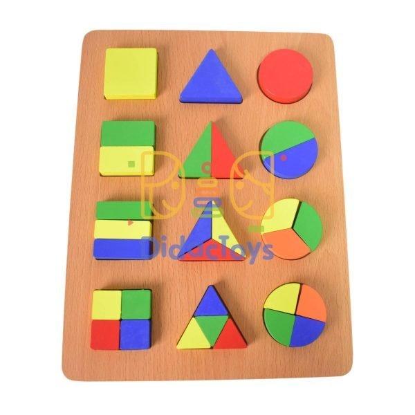 romp fracci de figuras geometricas