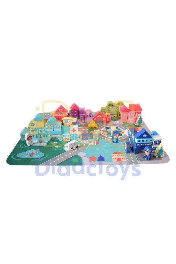 Juego didactico de construcción para niños